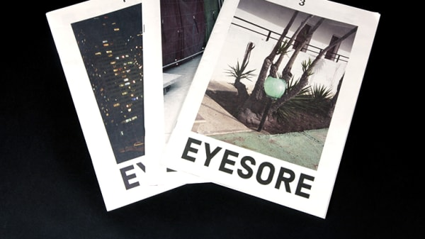 Photography grad's EYESORE magazine documents the changing nature of cities