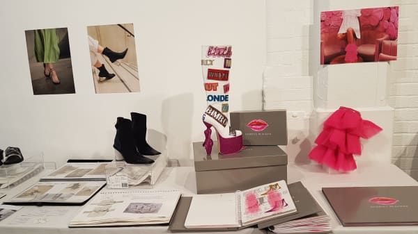 LCF students hold footwear showcase at Old Truman Brewery