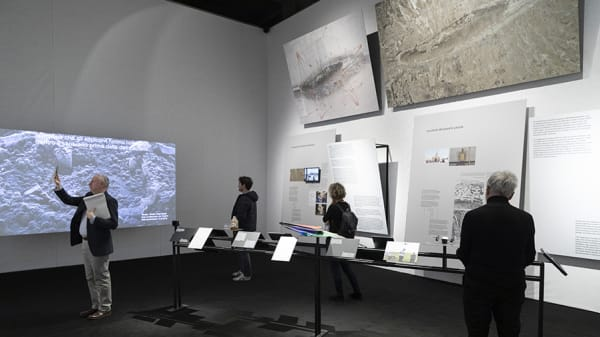 MA Graphic Media Design Course Leader Paul Bailey designs Victoria and Albert Museum exhibition on terrorist violence
