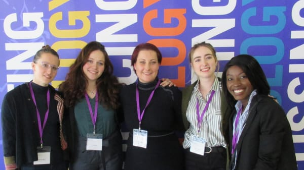 MSc Applied Psychology in Fashion graduates present their research at the BPS Annual Conference 2019