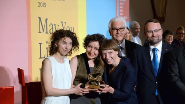 BA (Hons) Sound Arts and Design graduate wins Golden Lion at Venice Biennale 2019