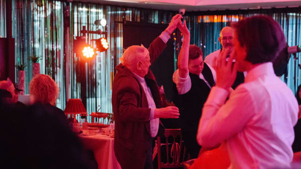 LCC Studio hosts glitzy social club for local over 60s with Posh Club