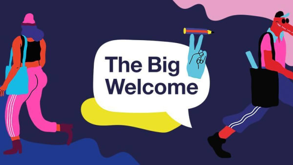 LCC graduate creates illustrations for UAL's latest Student Welcome Guide