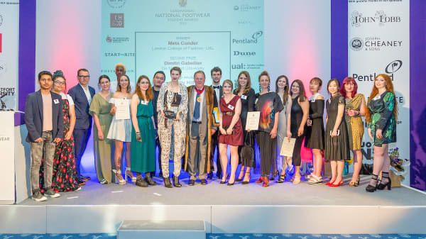 LCF talks to the finalists in the Cordwainers National Footwear Student of the Year Awards