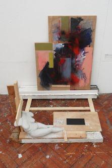 Painting installation.