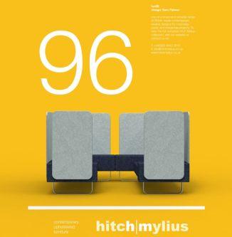 Graphic design in orange