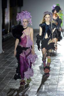 Work by Sarah McCormack, MA Fashion Show 2020