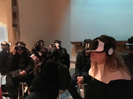 Students visit Somerset House exhibition