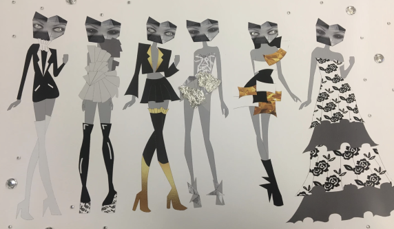 A series of student designs based on