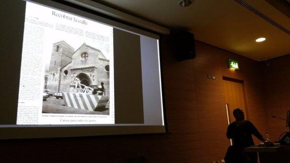 Santiago Cirugeda speaking at the Spatial Practices Lecture Series - Spring 2016