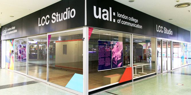 External photo of LCC Studio.