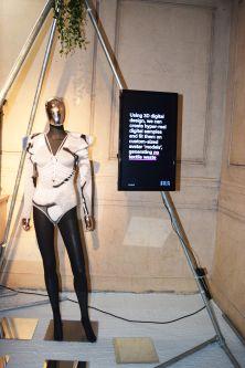 manequin wearing fashion-tech