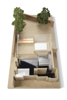 Architecture model by Anna Mackie.