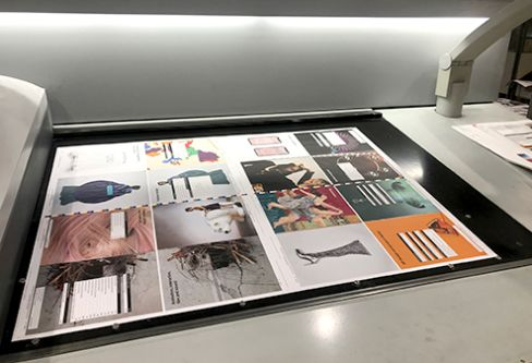Prospectus pages printing