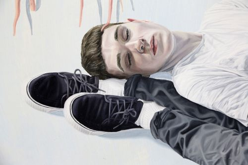 Portrait of youth by Tristan Pigott.