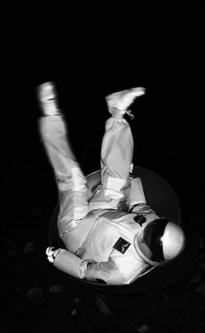 Image of astronaut falling.