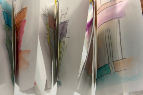 Tracings - close-up