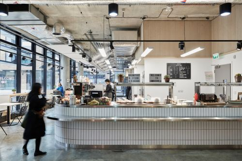 Camberwell College of Arts canteen