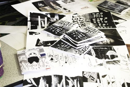 Art and Design Residential Summer School for 13 to 16 Year Olds student zines