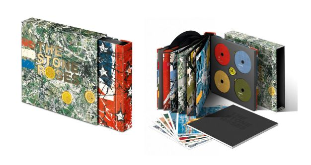 Sleeve design for Stones Roses box set by Ed Cowburn.