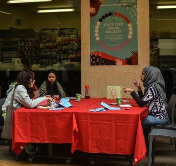 Rice Studio and their Period Empowerment Bracelet workshop