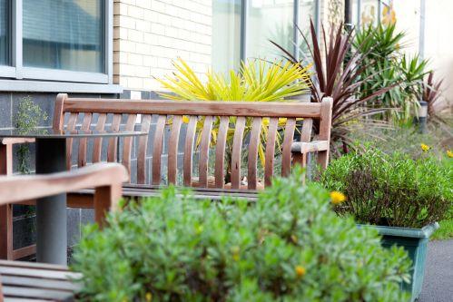 Photo of a garden area at Manna Ash House