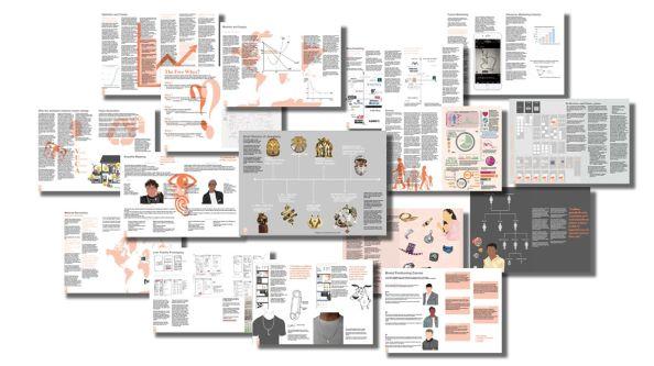 An array of work from Lauren's portfolio.