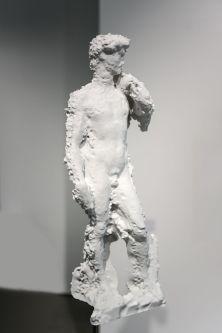 A 3D print of Michelangelo's David