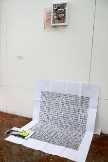 Text based work by William Nicholls