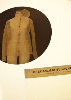 Picture of the algae jacket After Ancient Sunlight