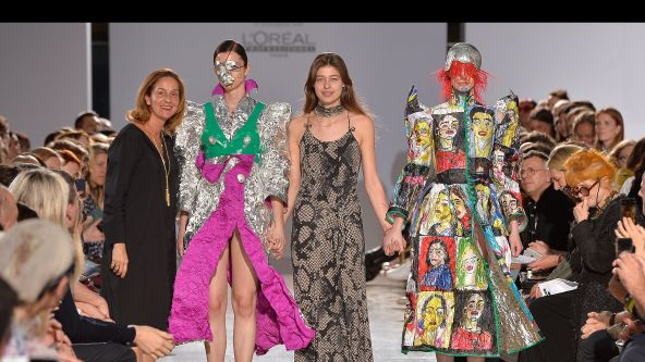 Pauline de Blonay, First Runner Up for the 2019 L'Oreal Professionnel Young Talent Award 2019