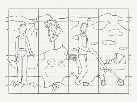 Working in progress sketch