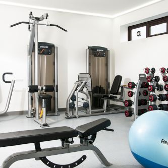 Photo of the student gym at Furzedown Student Village
