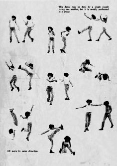 Illustration of person dancing