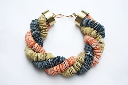 Bracelet by Meghan Hutchins.