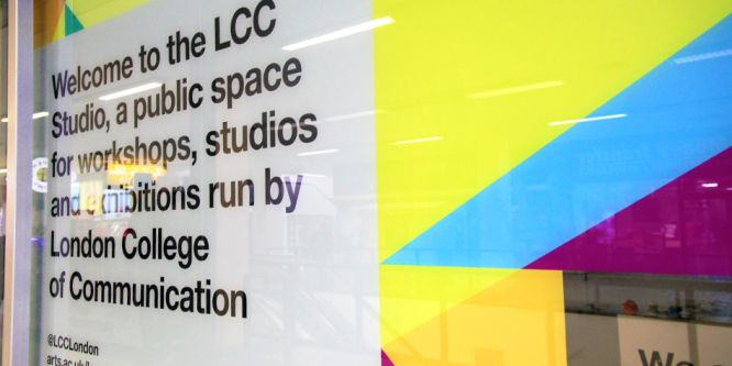 Signage from LCC Studio.