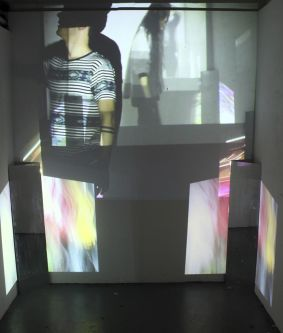 Projection and performance work.