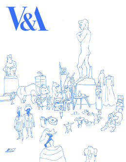 Illustration for V&A by Yoko Sasada.