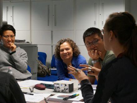 Monday_Project kickstarting workshop at Central Saint Martins Archway. Photo by Rose Zhou