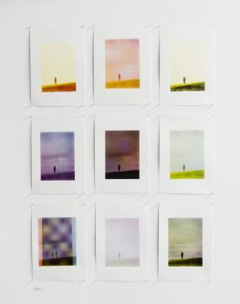 multiple prints mounted on a wall by Anna Smirnova