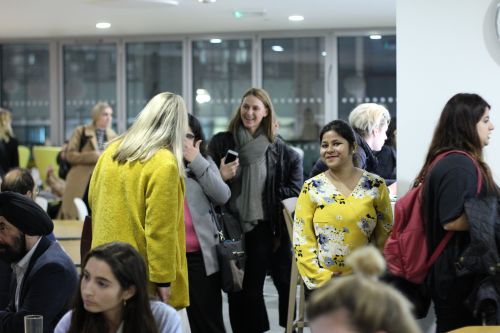 Guests at the CMI Marketing event for LCF MBA