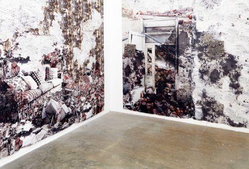 Installation by Tianyang Wang.