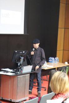 Ray Kinsella presenting