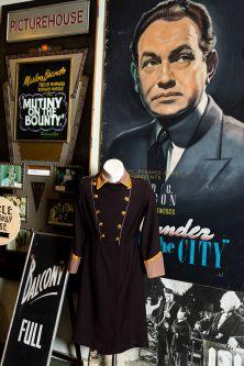 Vintage costume in situ at The Cinema Museum