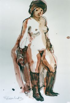 Life Drawing by Ruth Eisenhart