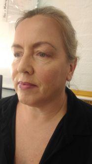 Livia Toso student work - No Makeup Look