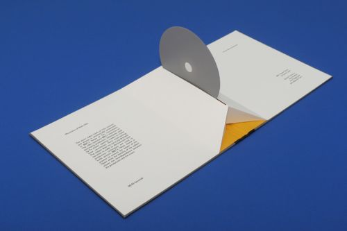 Booklet with CD designed by Manon Bournel-Bosson.