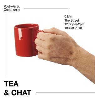 hand and tea mug photo