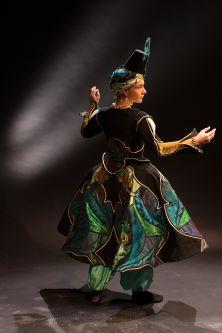Dance costume by Alessio O'Driscoll.