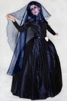 Costume for Erte Der Rosenkavalier.